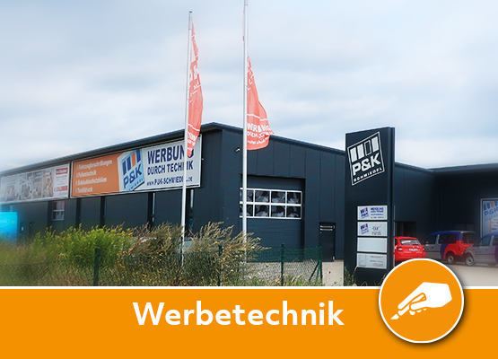 PUK Schmiedel in Vechelde Werbetechnik in Aktion