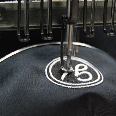 Textilveredelung und Stick -