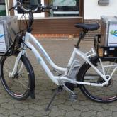 Beschriftung Fahrrad im Digitaldruck
