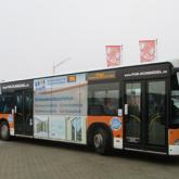 Teilfolierung und Beschriftung eines Solobus - P&K Schmiedel