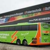 FlixBus - Vollfolierung und Beschriftung