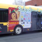 Schoduvel - Vollfolierung eines Solobusses
