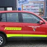 Beschriftung FFW Einsatzwagen