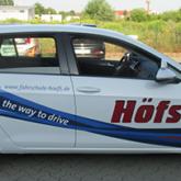 Fahrzeugbeschriftung gedruckt