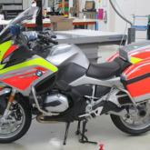 Beschriftung Motorrad