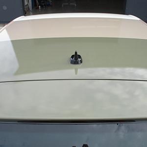 Teilfolierung im Digitaldruck, Ansicht des Dachs