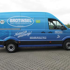 Verkaufswagen - Vollfoliert im Diditaldruck und Folienschnitt